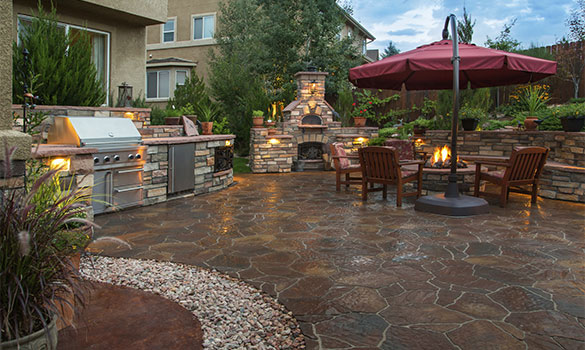 Decks Patios Hardscaping
